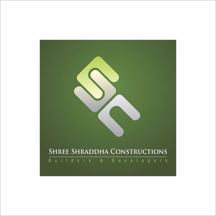 SC Logo Designing of construction Company by Graphic Designer Vijay Deore