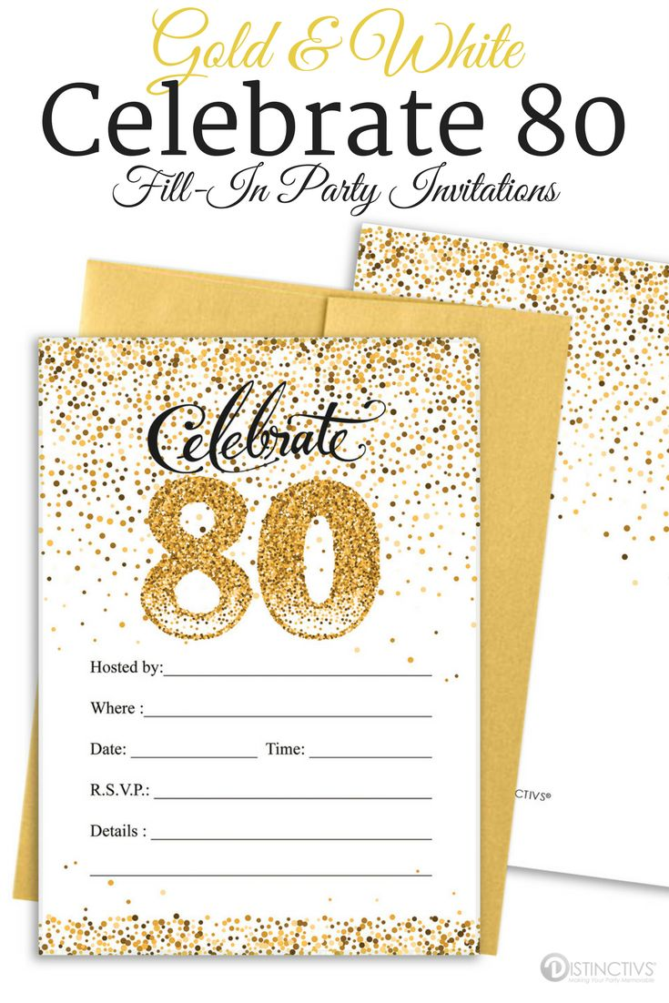 67 best 80th Birthday Party Ideas