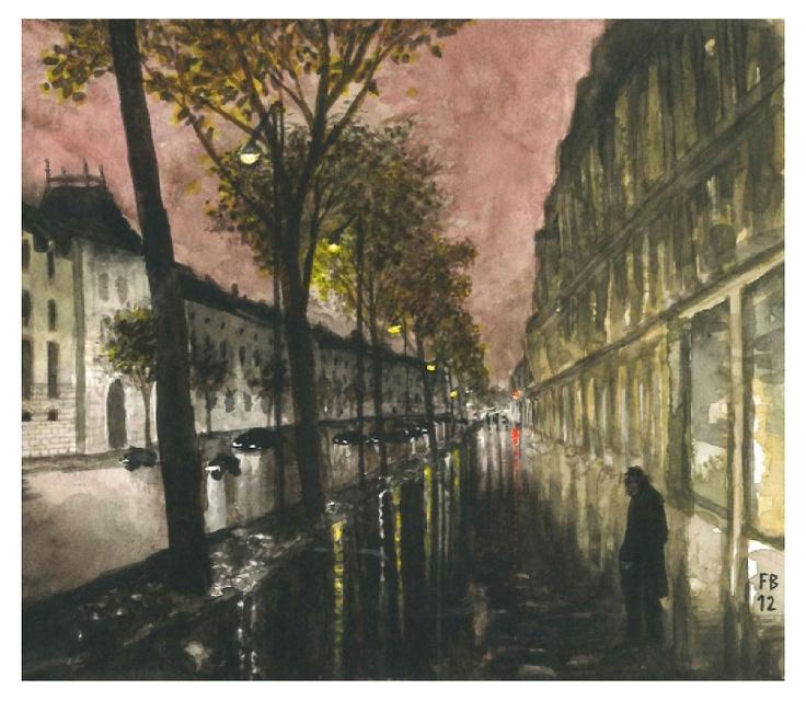 My friend Doumè in Paris