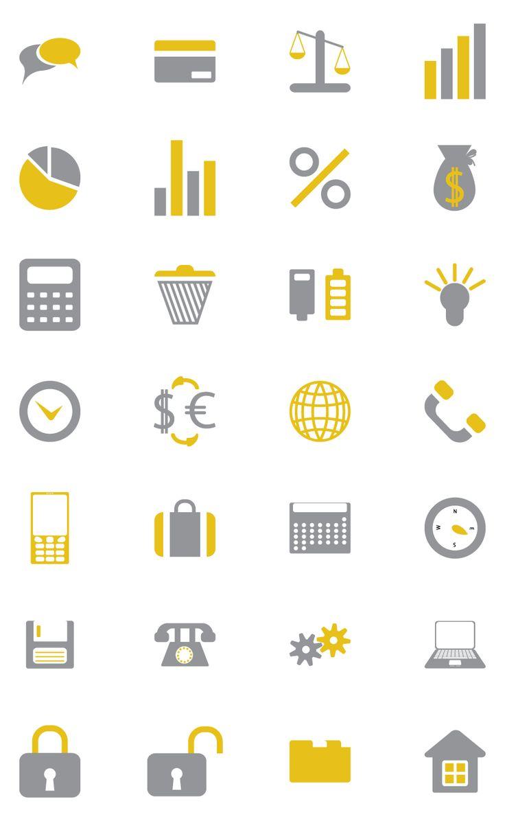 Web design freebies, Iconika - Free Business and Financial Icon Set
