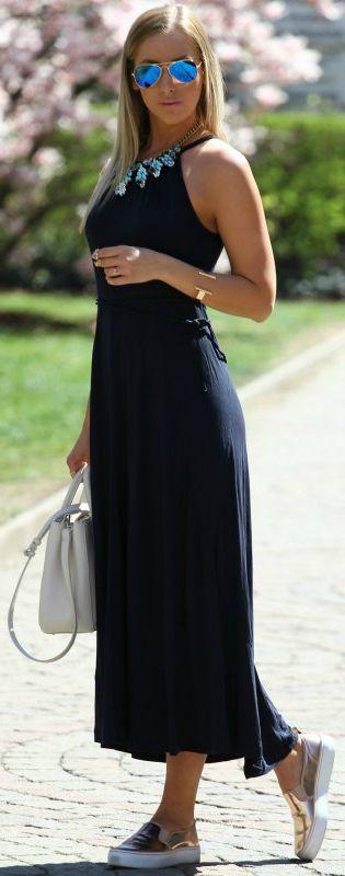 Weekend Maxi Inspiration Dress by Styleandblog.com