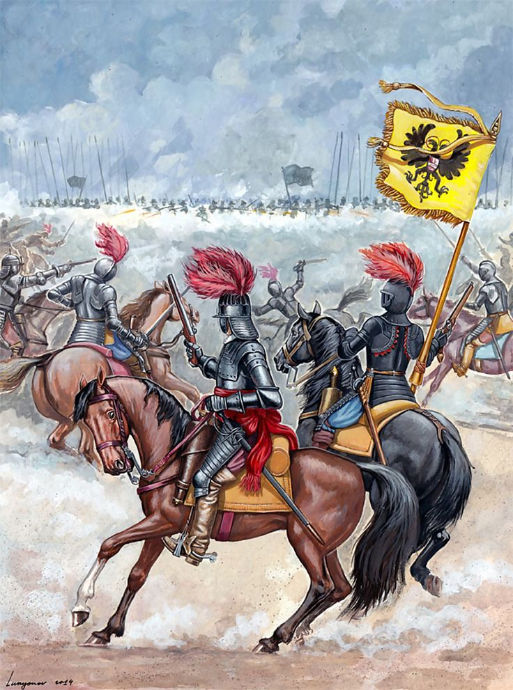 German Reiters, Thirty Years War