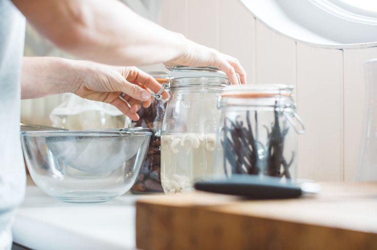 Homemade Cashew Nut Milk - Jennifer Moore