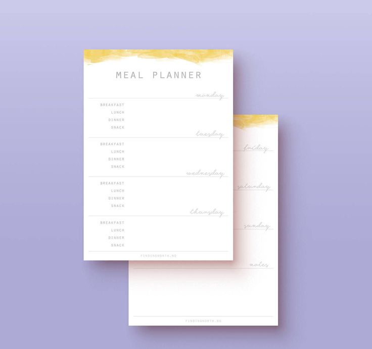 Plan your week with this printable meal planner. Save time and money by planning out what you and your family will eat ahead of time. No more last minute, expensive shopping trips or holding the fridge door open for 10 minutes without finding anything to eat. Plan your week with the meal planner, and use the matching grocery list to plan your shopping. Included in purchase - PDF Meal planner A4/US letter size - PDF Grocery list A4/US letter size The Meal Planner has clear margins...