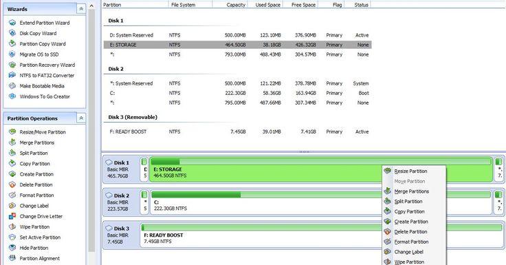 Το Aomei Partition Assistant Standard είναι ένα δωρεάν πρόγραμμα κατάλληλο για την διαχείριση των σκληρών σας δίσκων με υποστήριξη Windows 10 Windows 8.1 Windows 8 Windows 7 Vista και XP. Υποστηρίζει ορισμένα προηγμένα χαρακτηριστικά κατάτμησης συμπεριλαμβανομένων της αλλαγής μεγέθους των διαμερισμάτων του σκληρού σας δίσκου μετακίνηση κατάτμηση τη συγχώνευση τη διάσπαση αλλά και τη δημιουργία διαγραφή τη μορφοποίηση διαμερισμάτων την επέκταση διαμερισμάτων του συστήματος και την ανάκτηση…