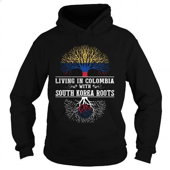 SOUTH KOREA-COLOMBIA - #shirts #orange hoodie. GET YOURS => https://www.sunfrog.com/LifeStyle/SOUTH-KOREA-COLOMBIA-96674609-Black-Hoodie.html?60505