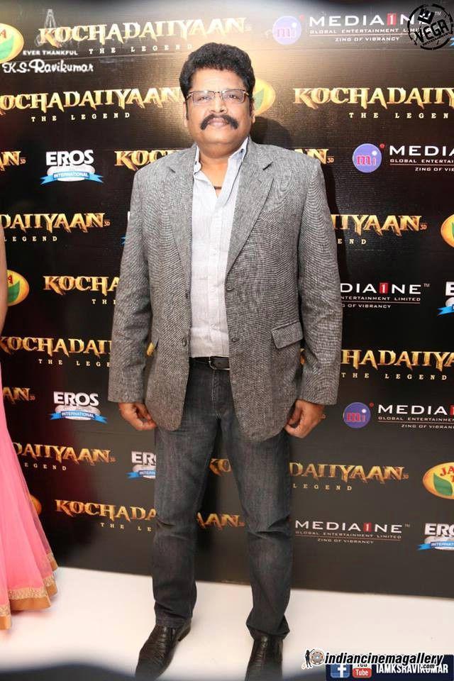 K. S. Ravikumar at Kochadaiyaan Audio Launch