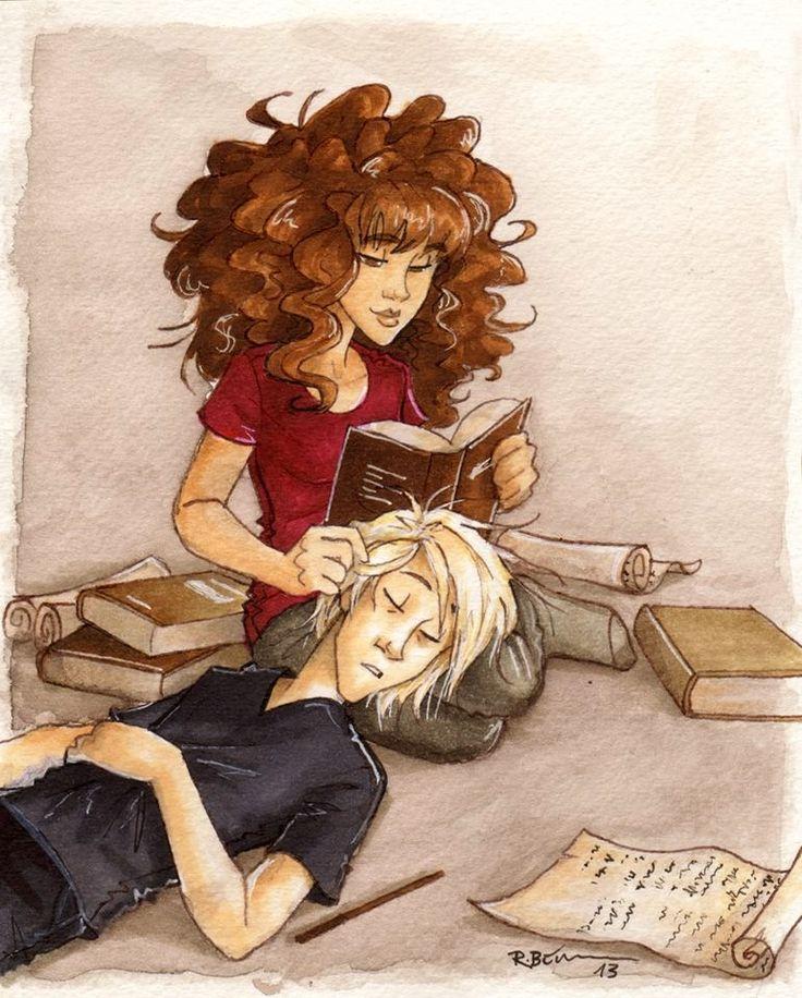 Resultado de imagem para harry potter hermione granger fan art