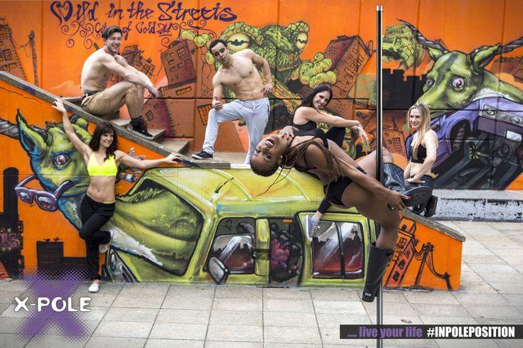 #poledance group shot at Summer Pole Camp 2014