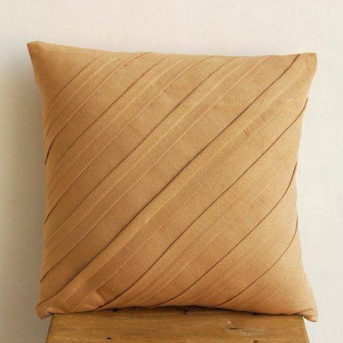 """Luxury Tan Euro Shams, 26""""x26"""" Euro Pillow Cases, Texture... https://www.amazon.com/dp/B00D197K0A/ref=cm_sw_r_pi_dp_x_g0ylybMKKPGM3"""