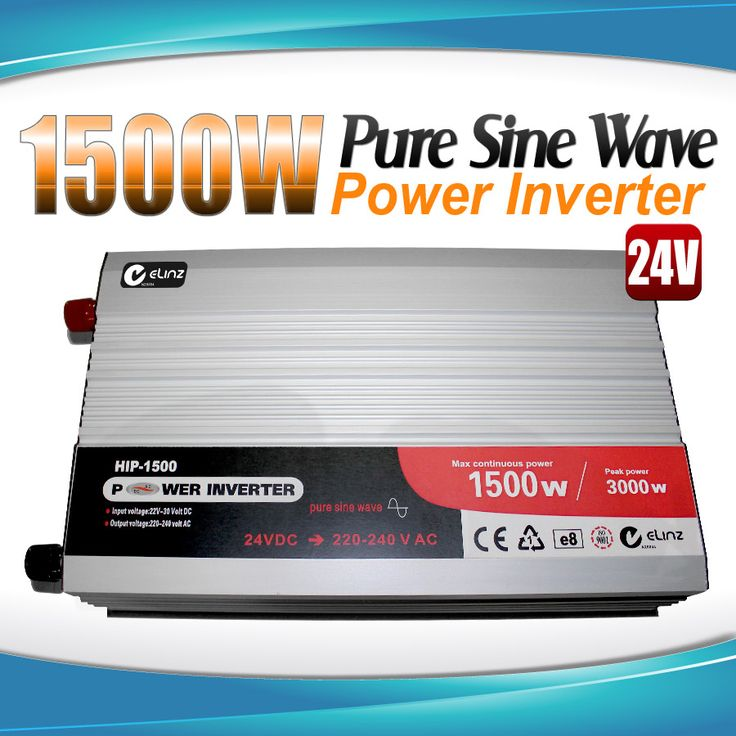 Pure Sine Wave Power Inverter 1500w/3000w 24v - 240v AUS plug Truck Car Caravan