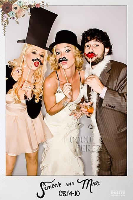 """These props for a """"photo booth or stop"""" would be inexpensive and cute."""