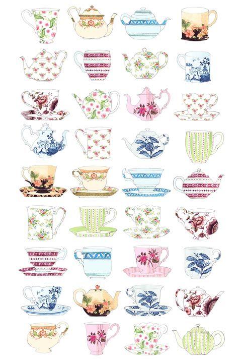 Whittard of Chelsea teaware range on Behance