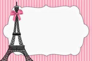 decoracion de invitacion de 15 años de paris (13)