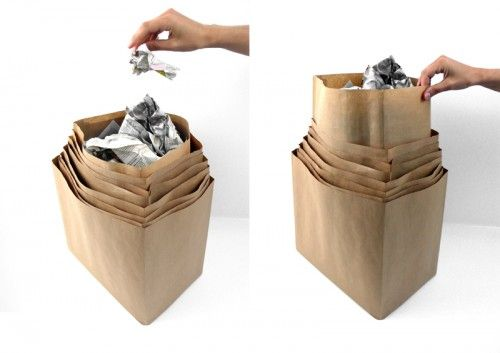 Vanishing Bin: Good Ideas, Decor Products, Decor Ideas, Bins Scrap, Homedecor Trendhuntercom, 49 Stylish, Vanishing Bins, Stylish Trash, Homedecor Trendhunt Com