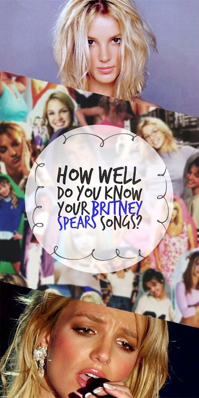 Britney Spears has released eight albums and had more than 20 Billboard hit singles during her 17-year career. And despite several public breakdowns, Britney still has millions of loyal fans. Are you one of them? Match the lyrics to the right song and prove you know your Britney songs!