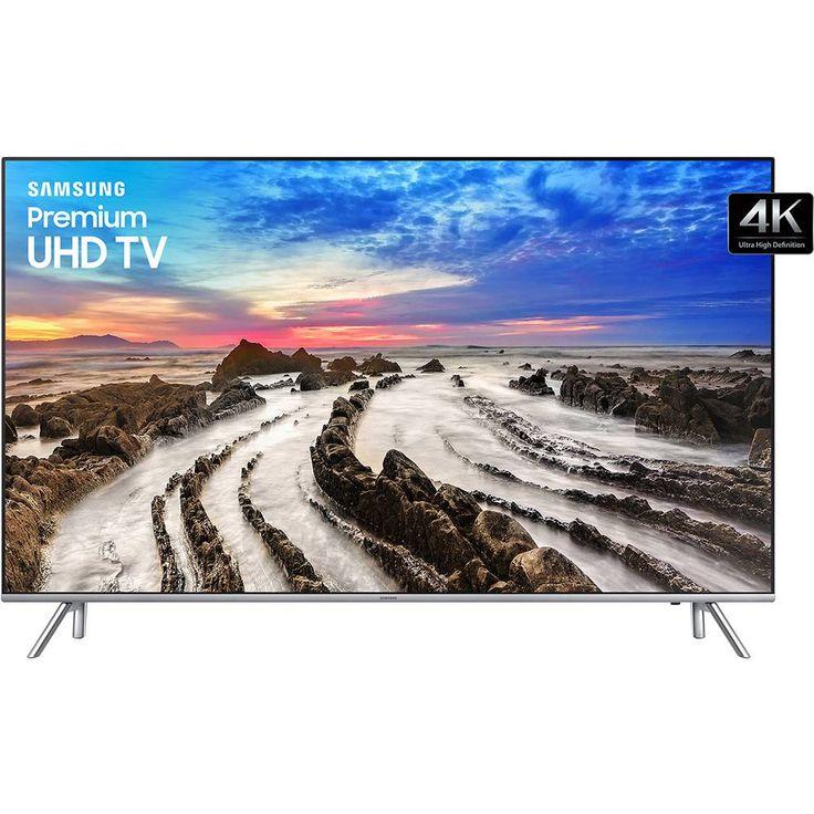 "Foto 1 - Smart Tv Led 55"" Samsung UN55MU7000GXZD Ultra HD 4k com Conversor Digital 4 HDMI 3 USB Wi-Fi Smart Tizen Controle Remoto Único 120Hz"