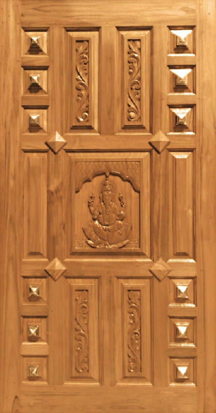 India A Wooden Door Design Wooden Front Door Design Pooja Door Design