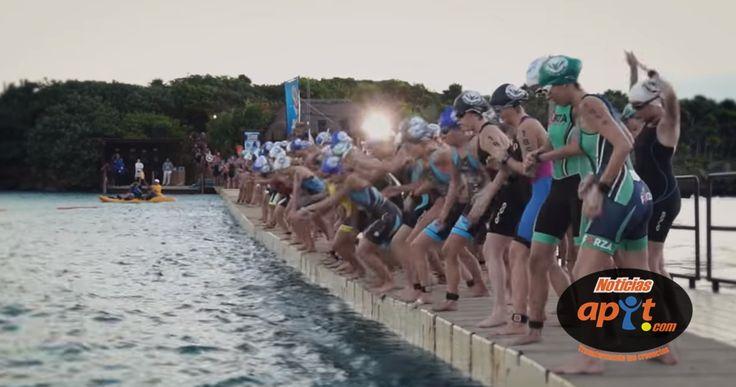 Campeonato Nacional de Triatlón, cierra en Xel-Há, Riviera Maya