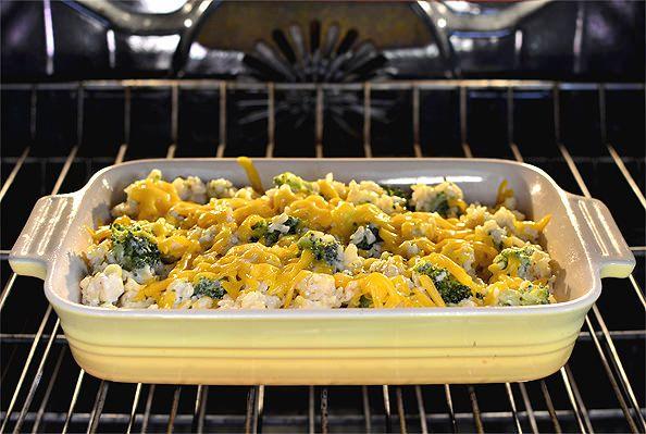 Skinny Cheesy Chicken And Broccoli-Rice Casserole  Recipe -3224
