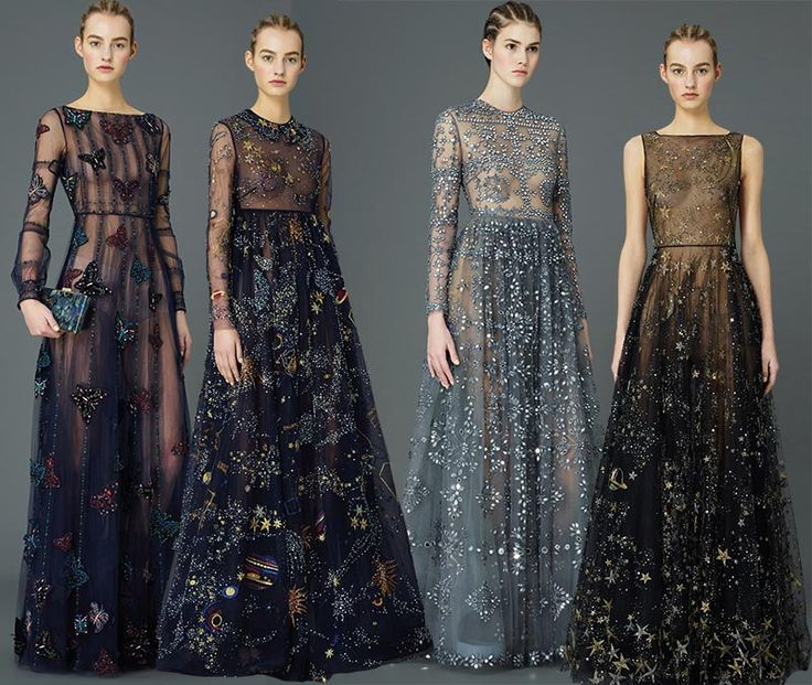 Honestly, the last few Valentino collections have been en fuego! Valentino Pre-Fall 2015 collection.