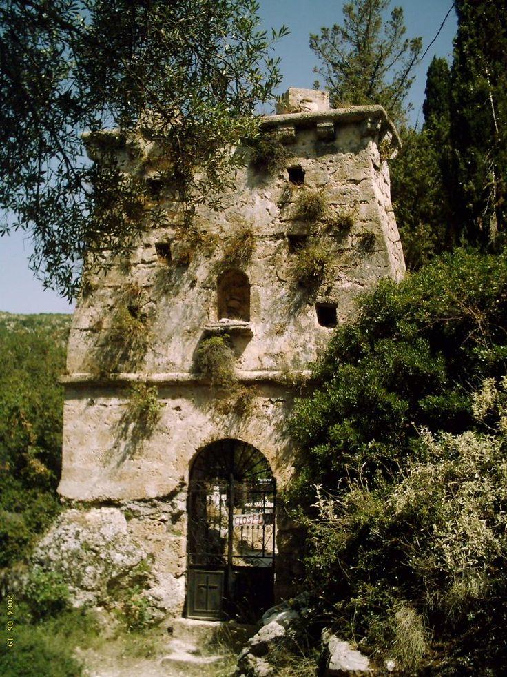 Old Skala Ruined Church Kefalonia Photo from Alimatas in Kefalonia | Greece.com