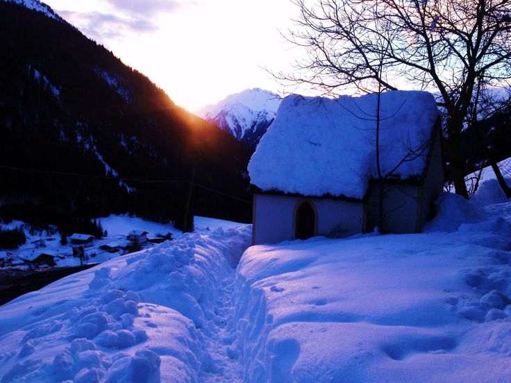 Schneeschuhwandern, Passeiertal, Italy