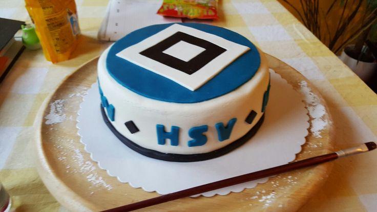 Hsv cake blue White