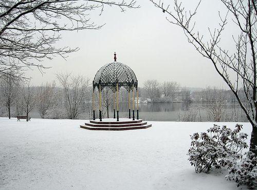 Ell Pond Gazebo, Melrose, MA