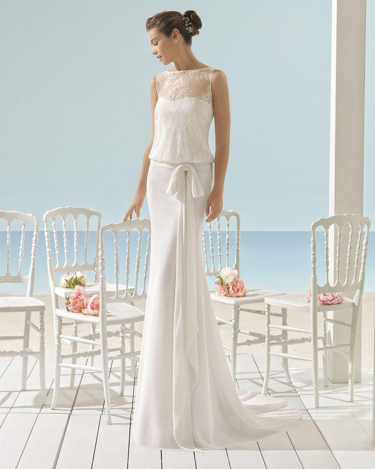 XOAN - 2017 Bridal Collection. Aire Barcelona Beach Wedding.