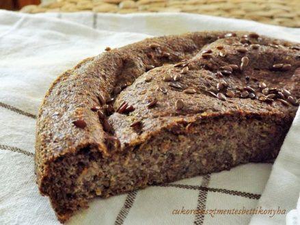 Lenmag kenyér - MINDENMENTES