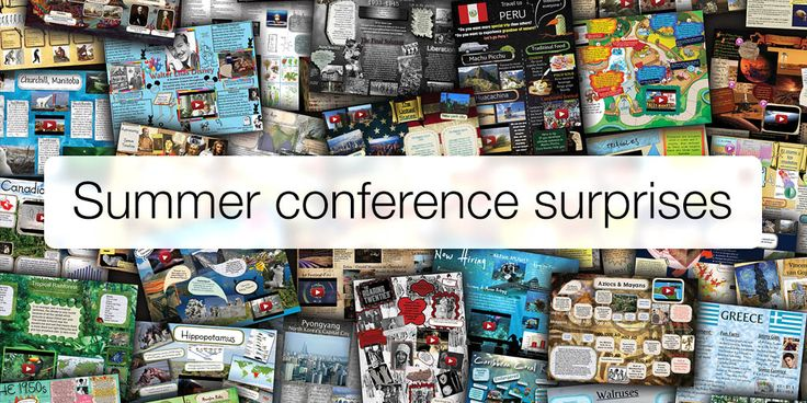 Glogster is coming to a conference near you - see our 2015 conference dates and learn about the exciting new developments we'll be sharing with visitors to our booth.
