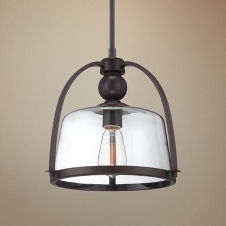 Quoizel Piccolo 11 1/2  Wide Bronze Mini Pendant Light - Style # 2F387 & Best 25+ Mini pendant ideas on Pinterest   Mini pendant lights ... azcodes.com