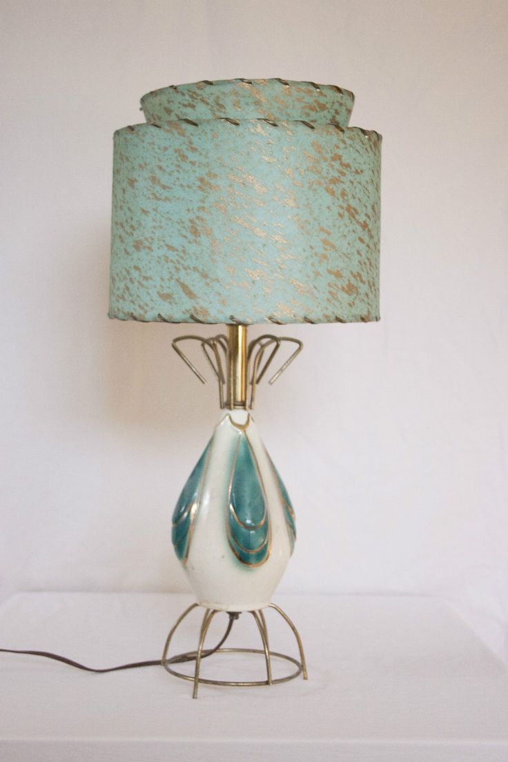 Mid Century Modern Lamp Shades Glamorous 467 Best Mid Century Lamp Shades Images On Pinterest  Vintage Lamps Decorating Inspiration