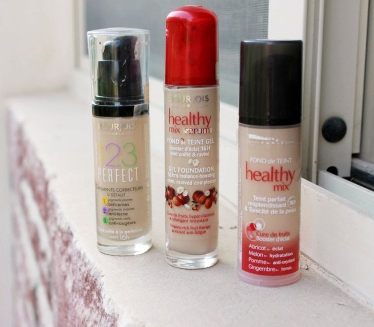 BOURJOIS FOUNDATIONS