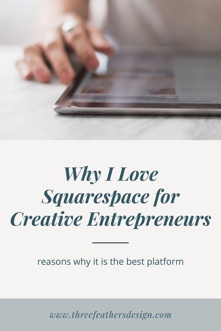 Why I Love Squarespace For Creative Entrepreneurs Three Feathers Design Santa Barbara Website Designer Web Design Tips Graphic Design Resources Templates Graphic Design Resources Free