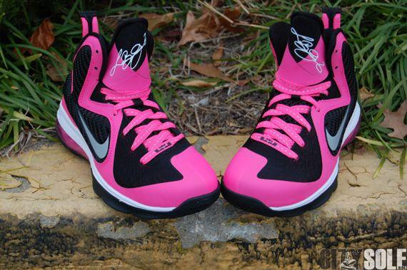 pink lebrons | Nasa Frsh: Nike LeBron 9 GS 'Laser Pink' – Available