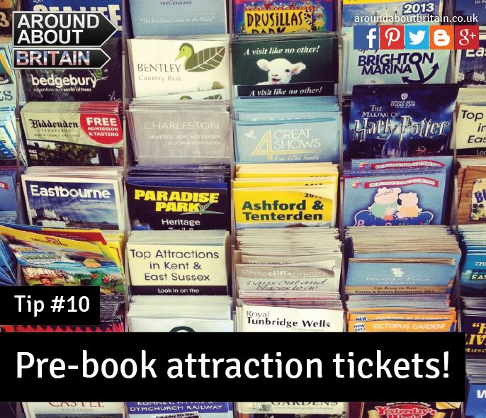 #Tip10 Pre-book attraction tickets, you may save money! #Staycation