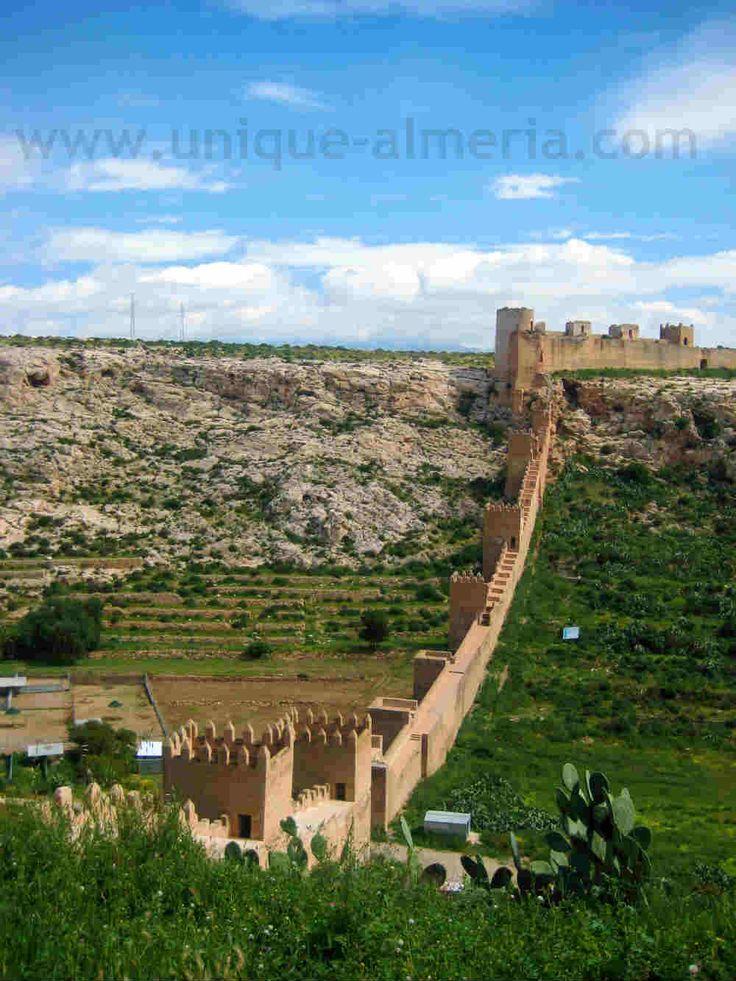 La Alcazaba in Almeria | Largest Muslim Fortress in Spain | Islamic Architecture