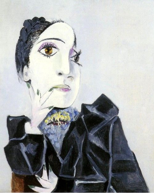 Pablo Picasso - Dora Maar with Green Finger Nails (1936)