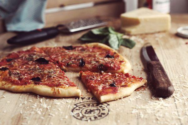 Homemade Pizza - Rustic Comfort.