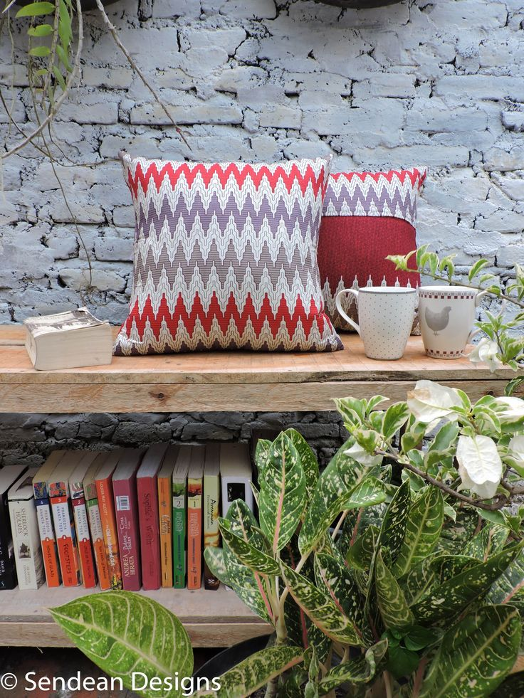 The cushion pattern is called Rang-Rang, one of thousand ethnic Indonesian Batik patterns (Product code: RAY4). Like our facebook fanpage Sendean Designs or follow us at instagram @sendeandesigns.