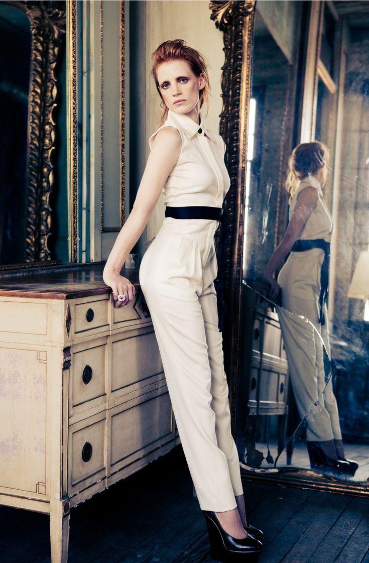 Jessica Chastain - Interview 2010 photoshoot
