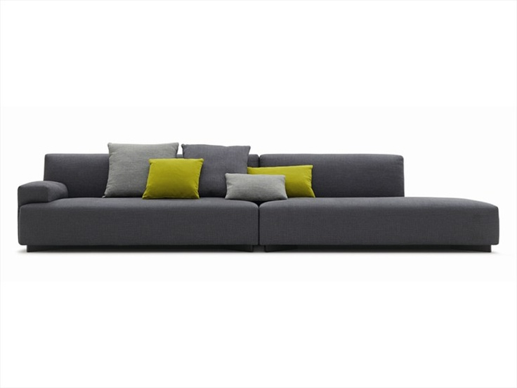 Soho Sofa By Paolo Piva Can Be Arranged In Modular And Extensive Solutions  By Preferring Wide Proportions And An Idea Of Comfort To Be Lived In Total  ...