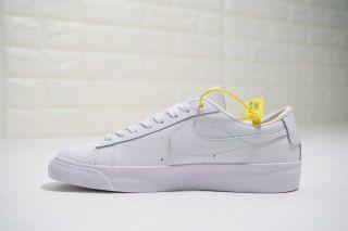 a164ecd08e16 Mens Womens Nike Blazer Low LE Triple white AA3961-104 Skate Shoes ...