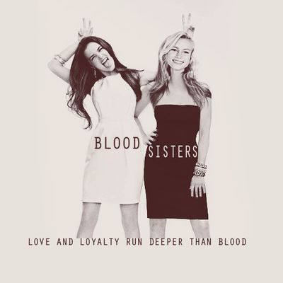 Zoey Deutch and Lucy Fry as Rose and Lissa in Vampire Academy: Blood Sisters