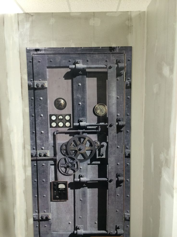 Good Melvin, Just Install A Steampunk Door Wrap. If You Want To Order One Click