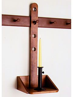 Cherry Shaker Pegboard   Shaker Pegs & Knobs   Shaker Workshops (mentioned in remodelista pg 99 as their preferred source)