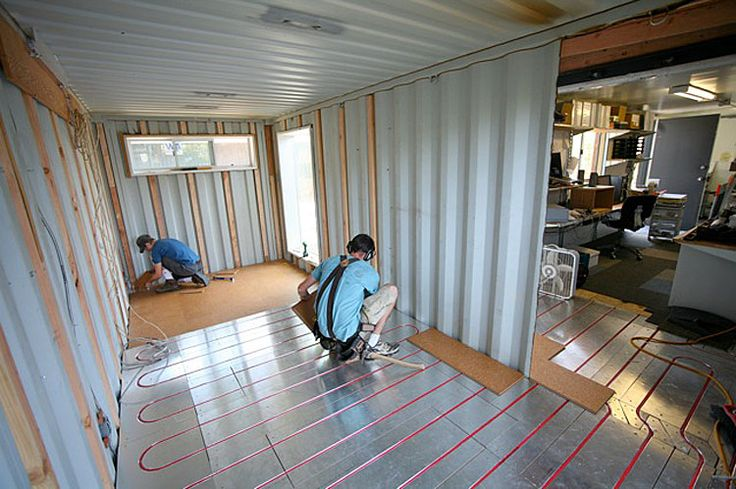 Shipping Container Homes: Building Lab Inc - Oakland, CA - Shipping Container Office Space