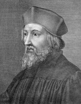 """""""No one is held to believe anything except what he is moved by God to believe but God moves no man to believe what is false."""" (Jan Hus,1369 – 6 July 1415)"""
